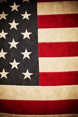 Antique American Flag Background