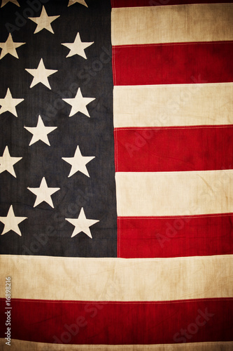 Antique American Flag Background