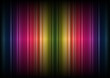 Abstract Rainbow Stripes Background