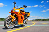 Fototapete Bike - Pkw - Motorrad / -roller