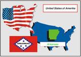 United States - Arkansas poster
