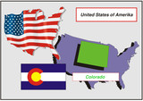 United States - Colorado poster