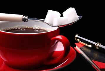 Kaffeetasse mit Kaffee