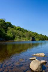 River South Tyne Wier