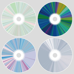 CD・DVDのイラスト