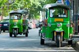 Tuk-tuk taxis in Bangkok - 16912042