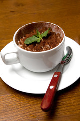 Tiramisu Dessert in Coffee Cup