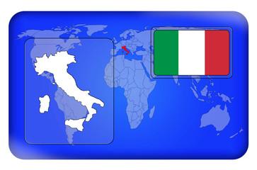 3D-Button - Italien