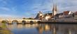Leinwanddruck Bild - Danubio, Regensburg