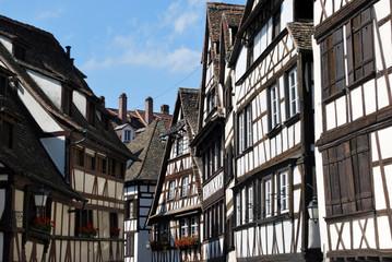 Maisons à colombage dans Strasbourg