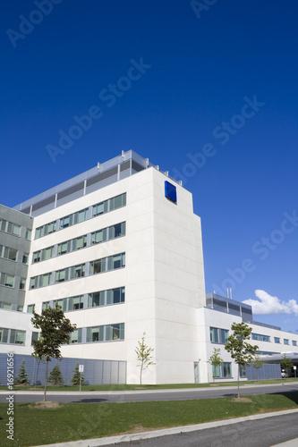 Modern Hospital Building - 16921656