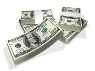 dollars, dollar bills, 100