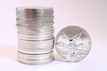 fine silver coins from mexico