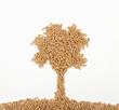 wood pellet tree