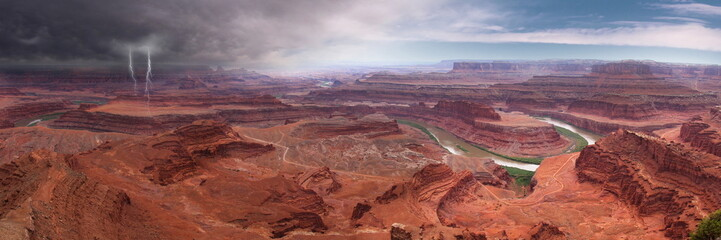Panorama view at Canyonland National Park