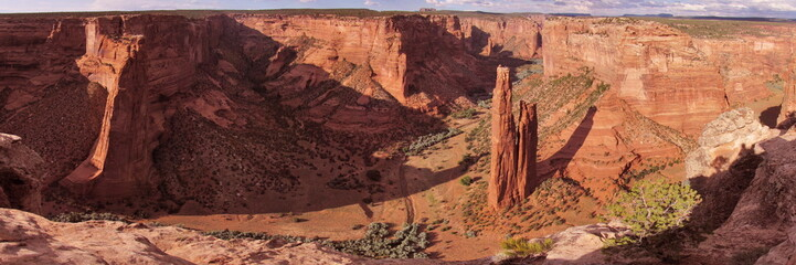Canyon De Chelly during sunset