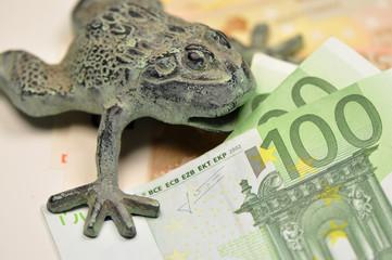 Frosch birng Geld
