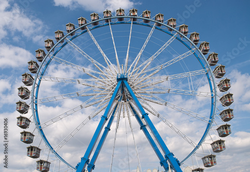 Ferris Wheel at the Octoberfest in Munich, Germany