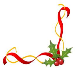 Weihnachtsrahmen, Stechpalme