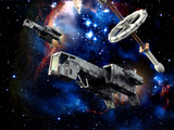 spaceships at war-