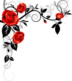 Fototapety Floral ornament