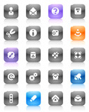 Multicolored buttons miscellaneous poster