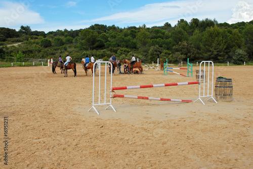 In de dag Paardrijden centre equestre