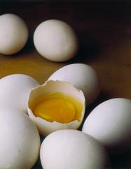 huevo abierto