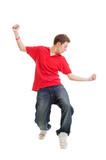 hip-hop guy dancing
