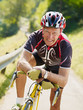 senior cyclist