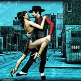 Fototapety Urban Tango