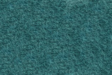 Close-up of Teal synthetic fibrous surface poster