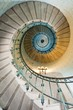 Leinwandbild Motiv beautiful lighthouse staircase