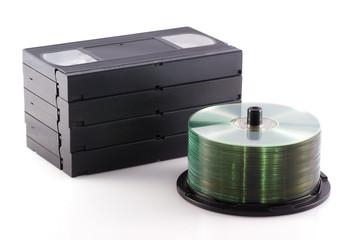 Dvd versus video.