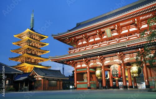 Foto op Plexiglas Japan 浅草寺 浅草