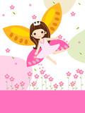 Fototapety flower fairy