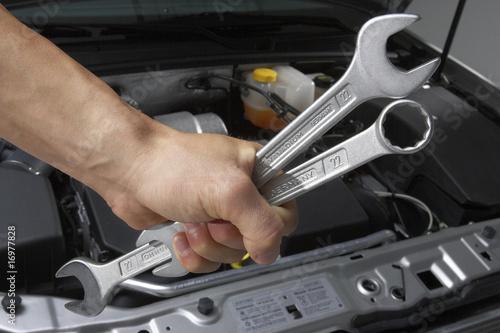 Werkstatt Auto Mechaniker-1274
