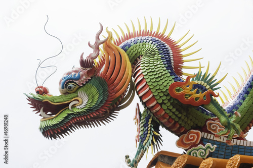 Poster Temple Dragon