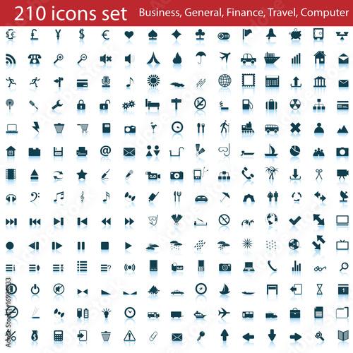 210 icons