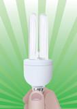 Efficient bulb poster