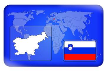 3D-Button - Slowenien