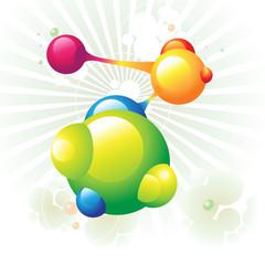 molecule green