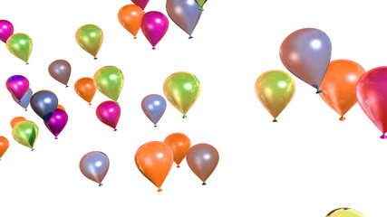 Colorful balloons,Alpha included