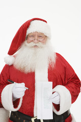 Santa Claus, portrait