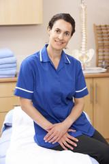 Portrait of female osteopath