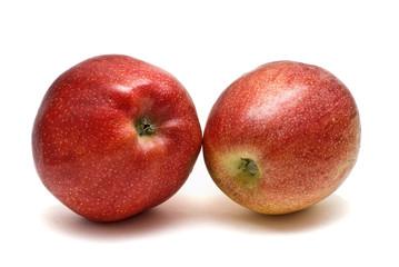 Par de manzanas.
