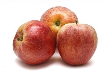Trio de manzanas.