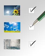 Energie - die richtige Wahl....