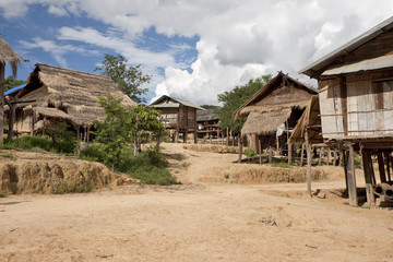 Akha Dorf Muang Sing, Laos