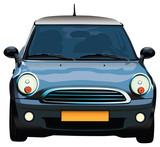Fototapety Mini car
